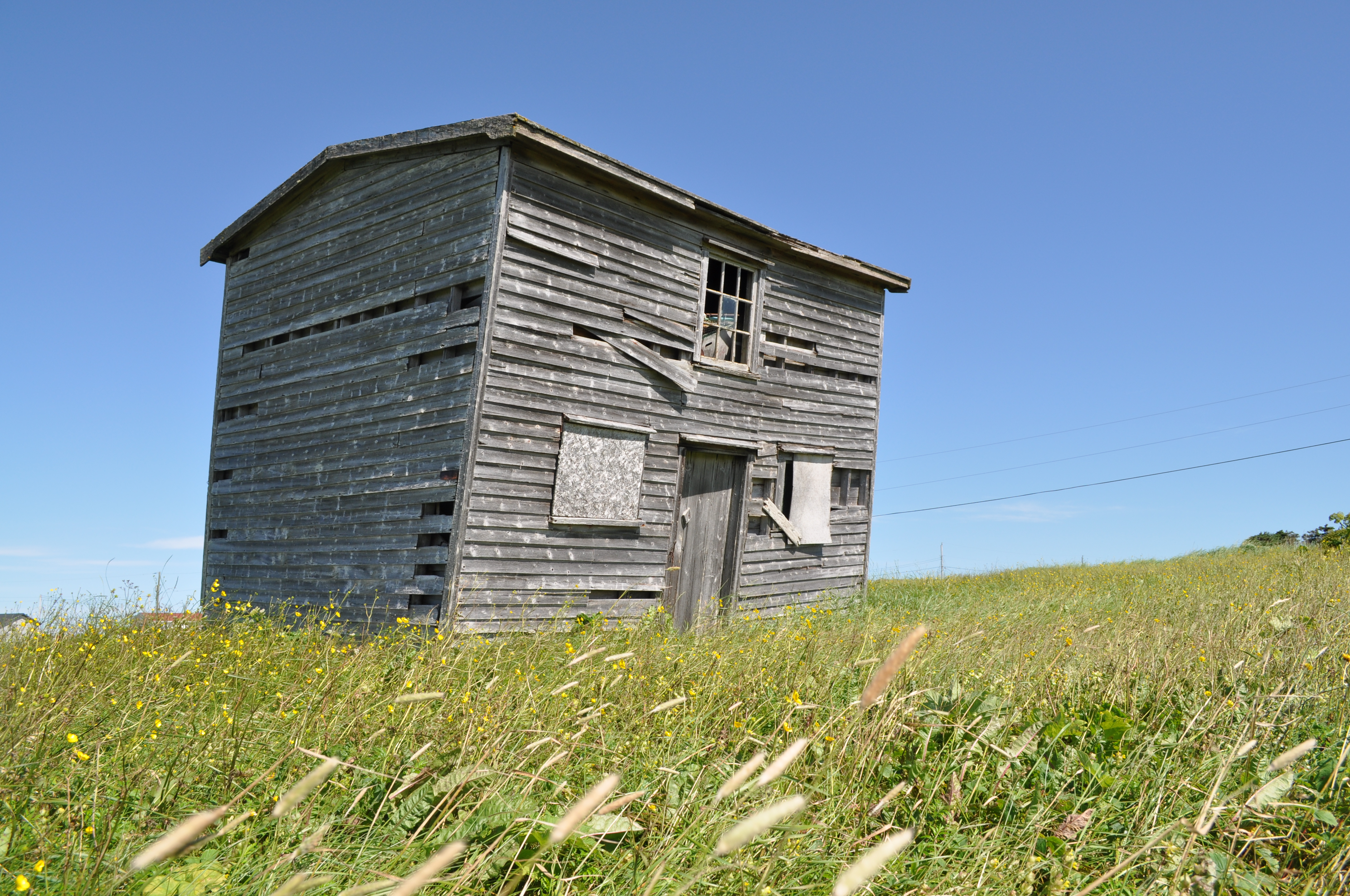 Vernacular architecture rural nl saltbox home live for Home plans newfoundland