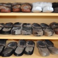 Sealskin Slippers for Christmas?