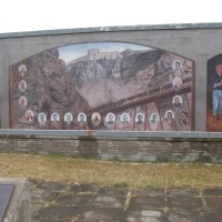 Murals Depict Aspects of the Past - Bell Island, NL