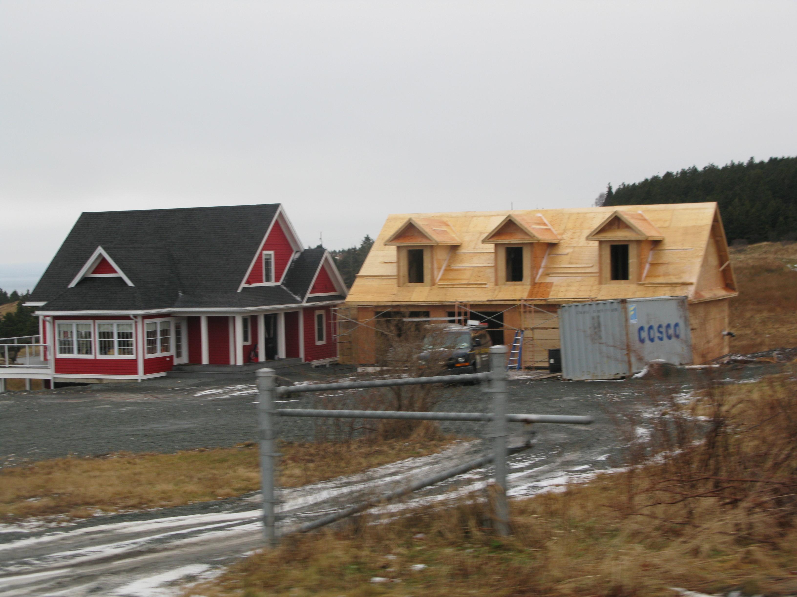 Bell island live rural newfoundland labrador for Newfoundland houses