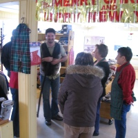 MHA visits GNP Crafts - Purchases Seal Skin Products