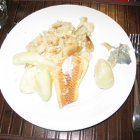 A Feed of Fish n' Brewis