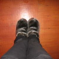 Get Your Own Sealskin Slippers at www.gnpcraft.com