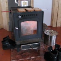 The Old Wood Stove