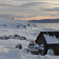 Conche, Newfoundland & Labrador on a Winter's Day