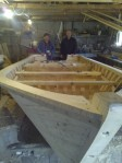 Another handmade boat, builder usually makes at least one each year
