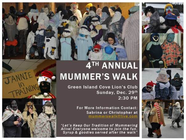 4th Annual    Mummer's Walk