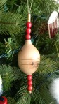 A wooden ornament from Fogo Island