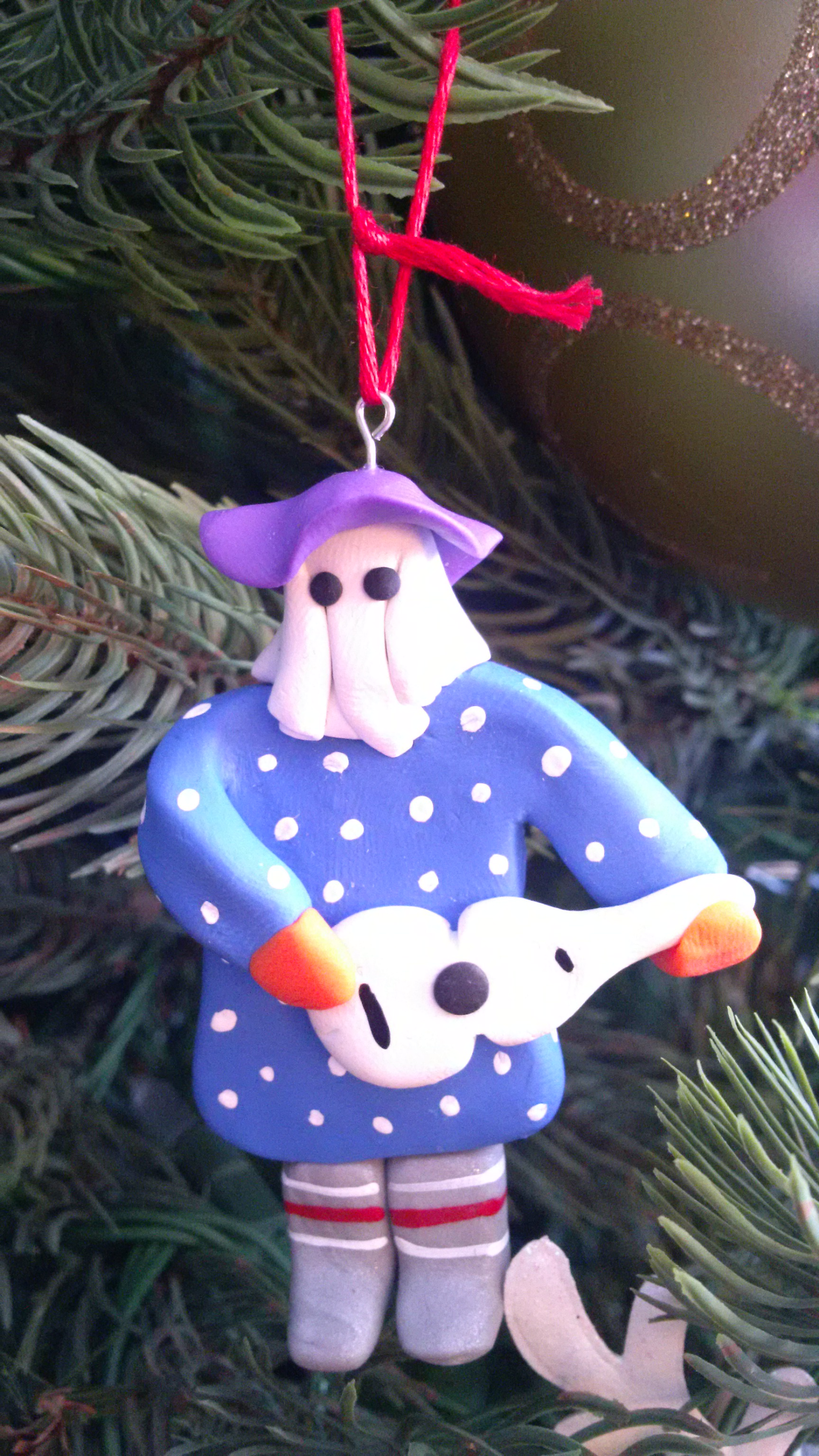 Trimming Christmas Tree