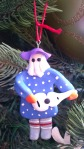 A mummer by Kathy Hillier